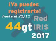 Grupos de Trabajo RedIRIS 2017